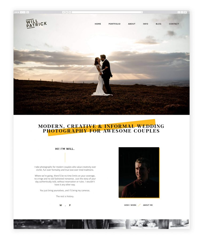 Will Patrick UK photography website