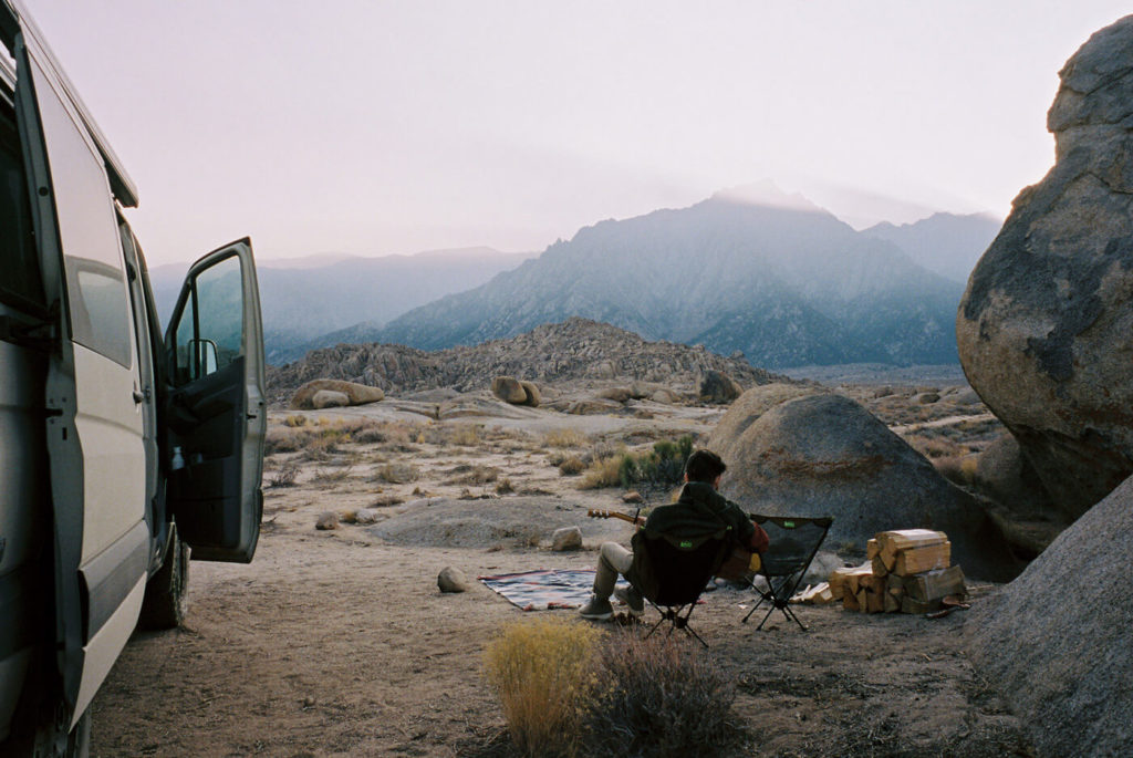 Katch Silva Photography interview, joshua tree camping, ben sasso
