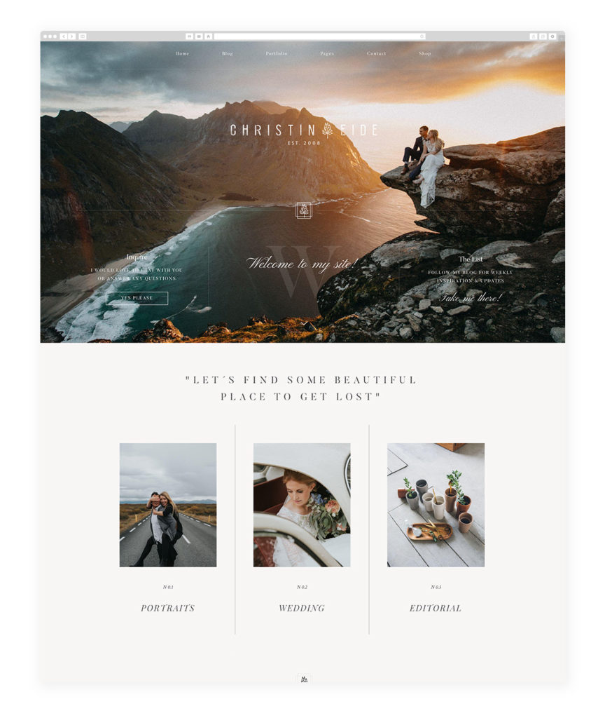 christin-eide-photography-site-example