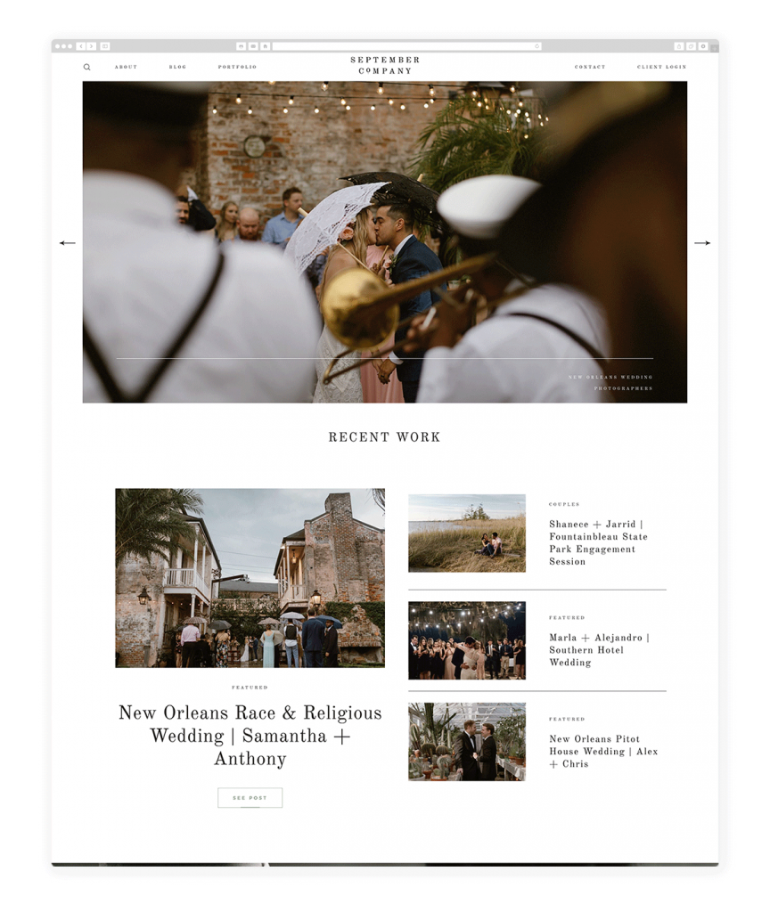 wedding-photography-website-theseptemberco.com
