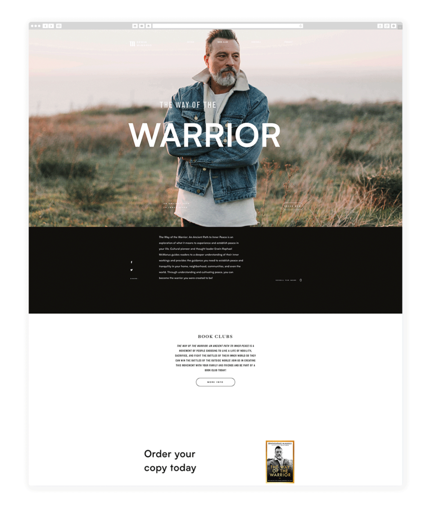 Custom Websites Designed by Flothemes - Erwin McManus