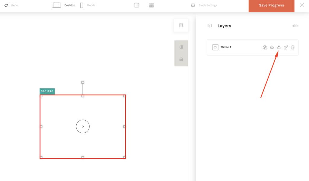 FlexBlock v.1.2. Layer Locking functionality, icon