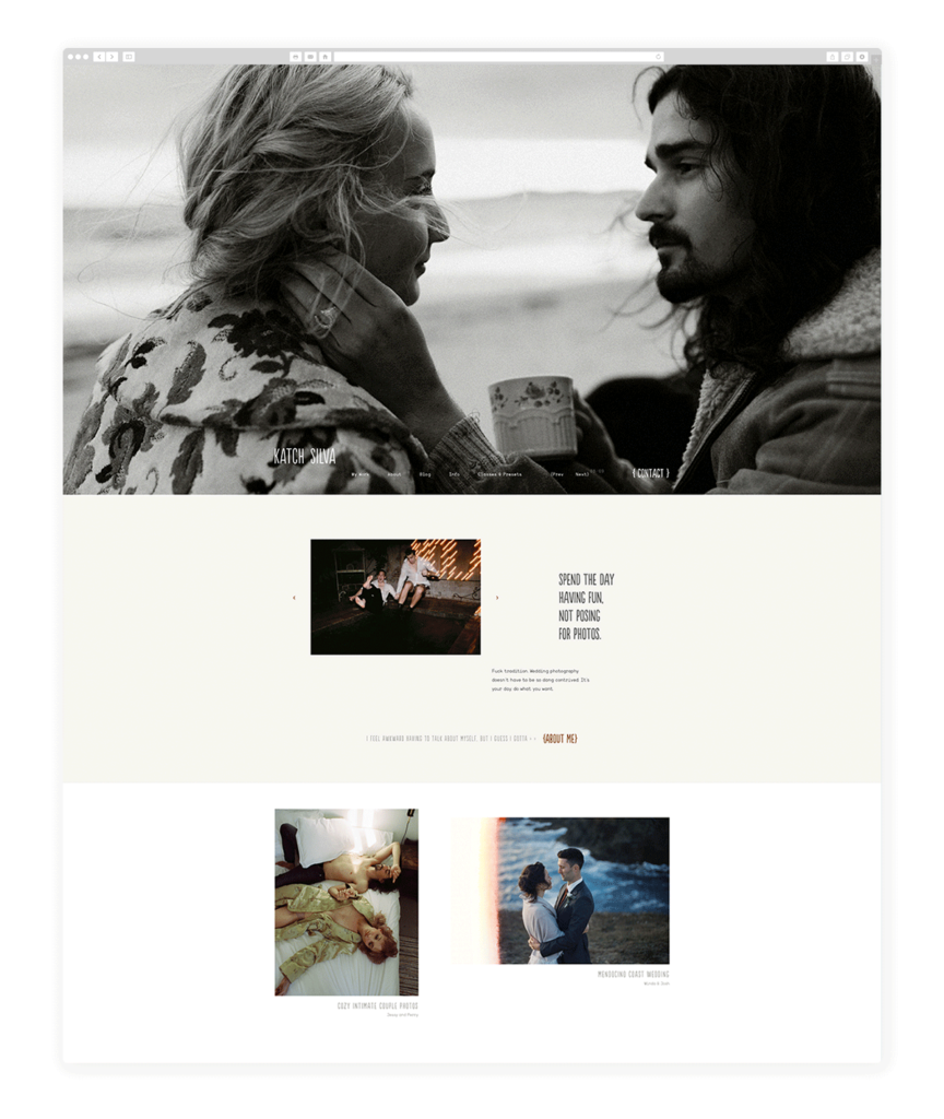 Custom Websites Designed by Flothemes - Katch Silva