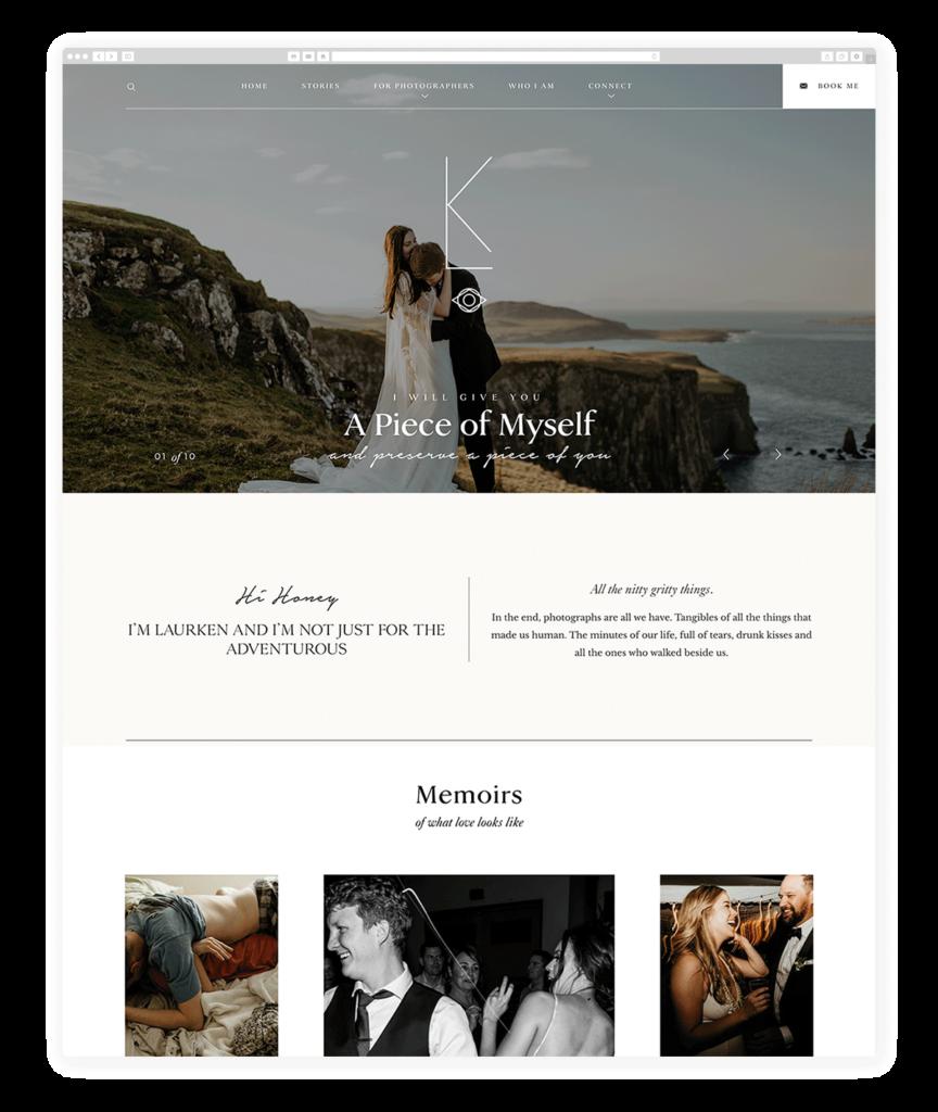 Custom Websites Designed by Flothemes - Laurken Kendall