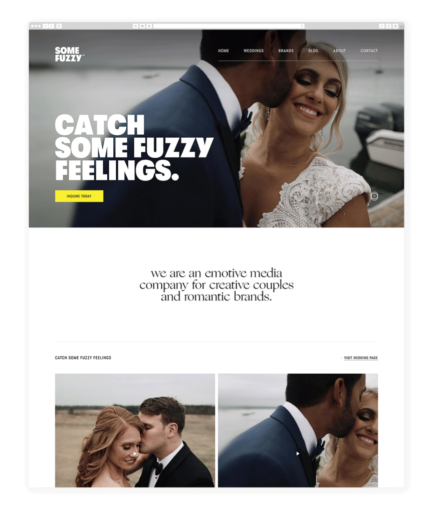 Custom Websites Designed by Flothemes - some fuzzy