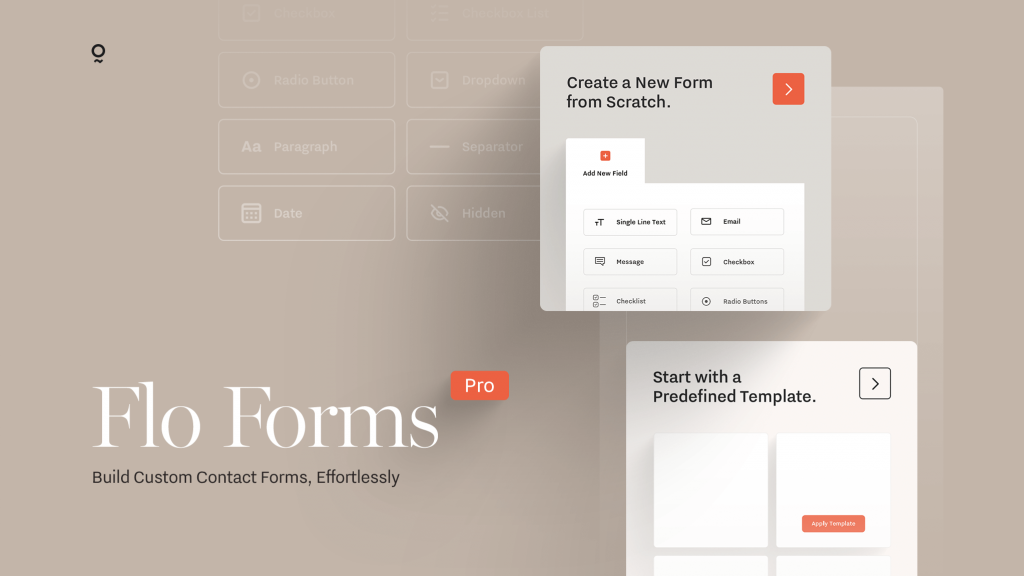 FloForms Pro | Our recommended Contact Form Builder for WordPress websites in 2020