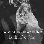 8 adventurous WordPress photography websites built with Faro