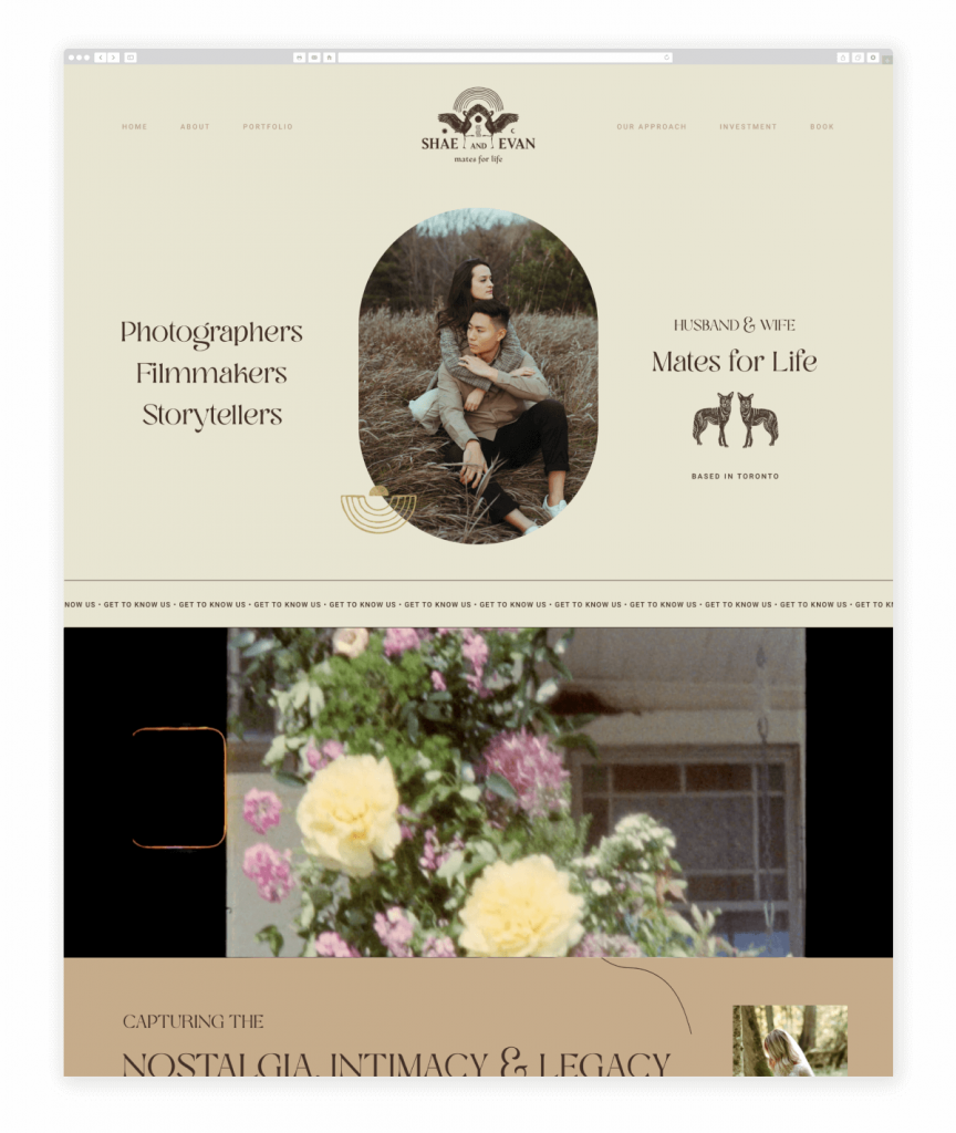 Shae and Evan Wedding and Elopement Photographers and Videographers Flothemes Website