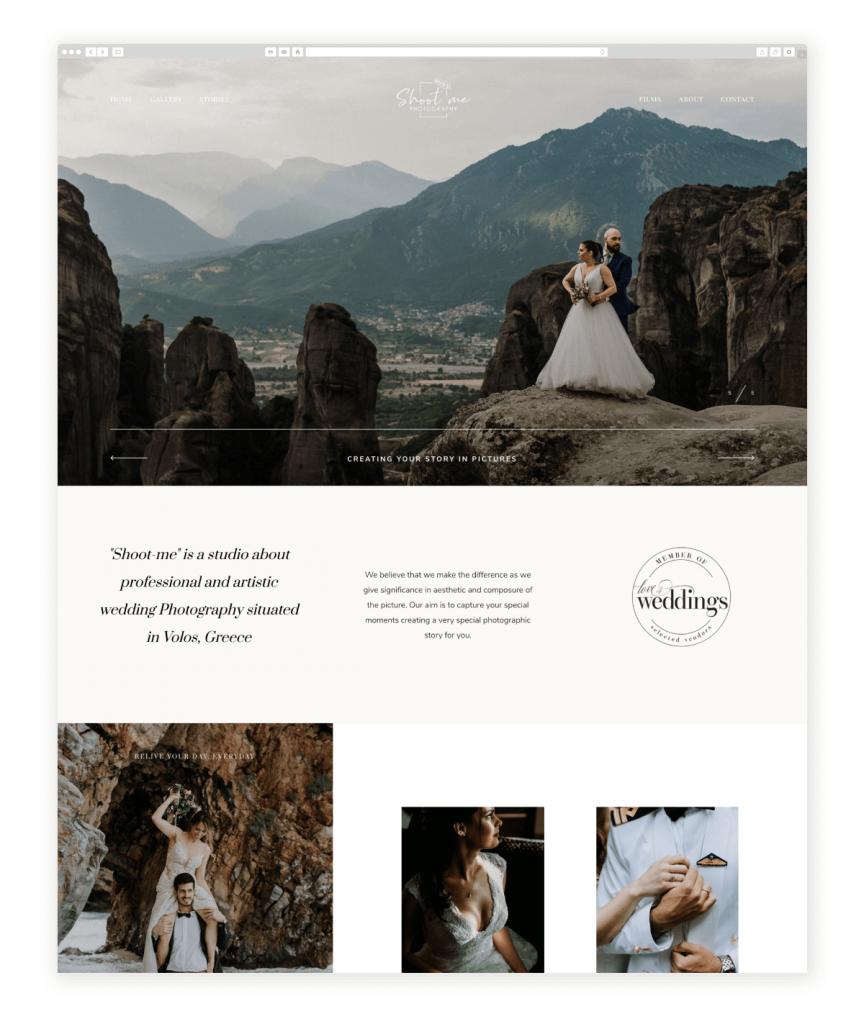 Shoot-Me Photography Wedding Photographers from Greece Flothemes photography websites Greece